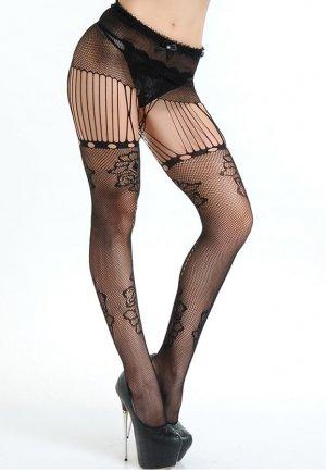 Seksi File Külotlu Çorap