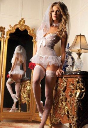Seksi Gelin Kız Kostümü