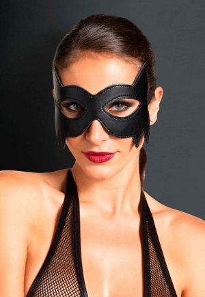 Batman Siyah Deri Göz Maskesi
