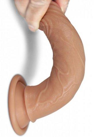 Et Dokusunda Ten Rengi Extra Yumuşak 18 Cm Penis