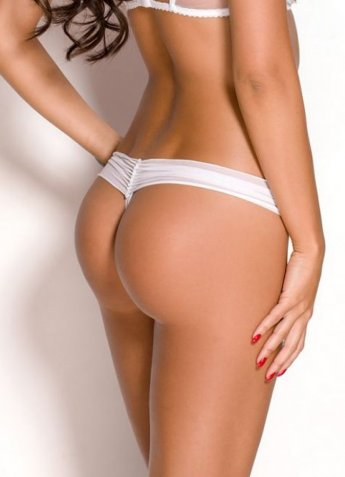 Beyaz Sexy Tanga