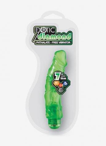 18 Cm Exotic Diamond Jel Vibratör