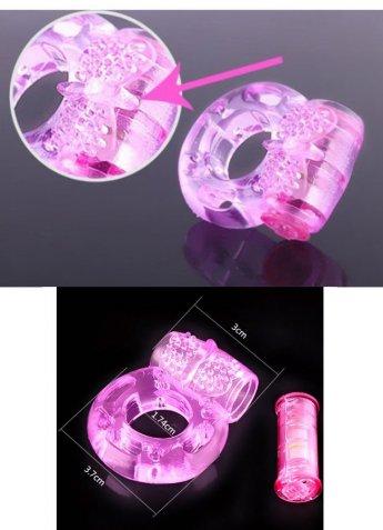 Cockring mit Vibration pink