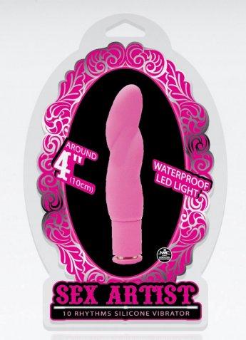 Sex Artist 10 Cm Mini Pembe Vibratör