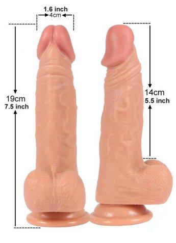 Soft Ten Dokuda 19 Cm Realistik Penis Dildo