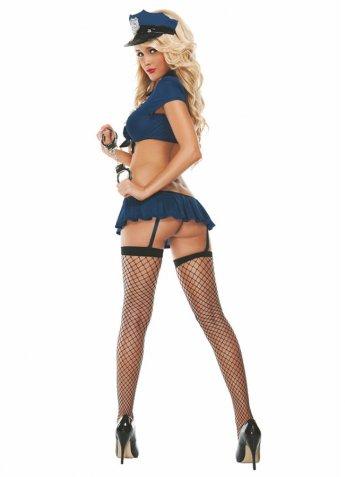 Sexy Fantazi Giyim Şerif Kız Kostüm
