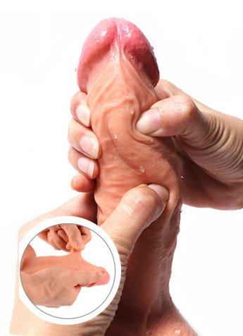 Gerçek Penis Dokusu Extra Yumuşak Penis Dildo