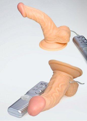 Testisli Damarlı Gerçekçi Vibratör