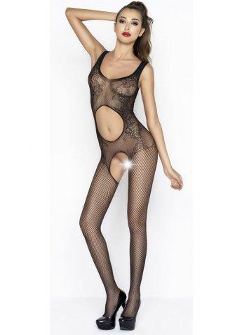 Karın ve Özel Bölgesi Açık Vücut Çorabı