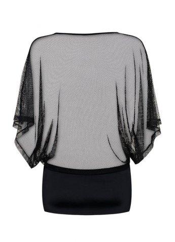 Fileli Fantazi Transparan Elbise