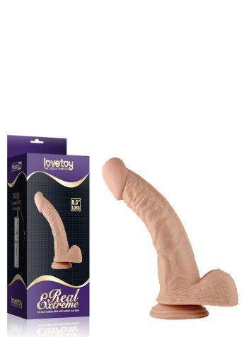 Gerçek Extreme Eğimli 8.5 inç Titreşimsiz Penis