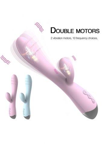 Çift Titreşim Motorlu Tavşan Modern Vibratör