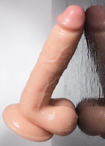 Nokta Shop 21 Cm Gerçekçi Testisli Dildo Penis