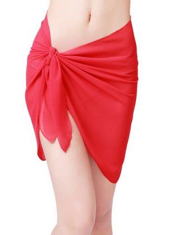 Kırmızı Tül Pareo