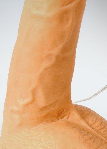Mighty Muscle 23 Cm Realistik Kalın Penis Vibratör