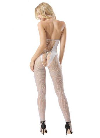 Nokta Shop Sırt Dekolteli Vücut Çorabı