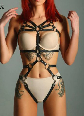 Özel Tasarım Seksi Fantazi Deri Giyim