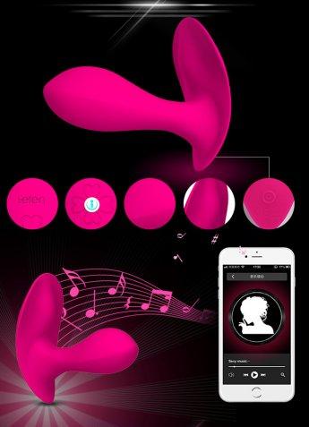 Telefon Uyumlu G-Spot Klitoral Bakire Vibratör
