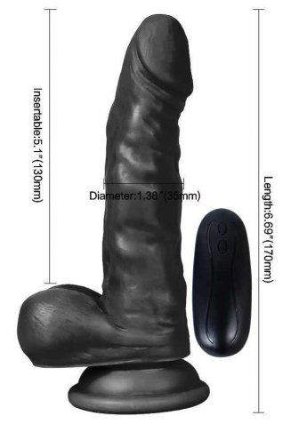 Et Dokusu Kalın Süper Realistik 17 Cm Penis