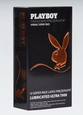 Playboy Ultra Thin 12 li Süper İnce