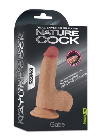 Nature Cock Gabe 15 Cm Gerçekçi Dildo