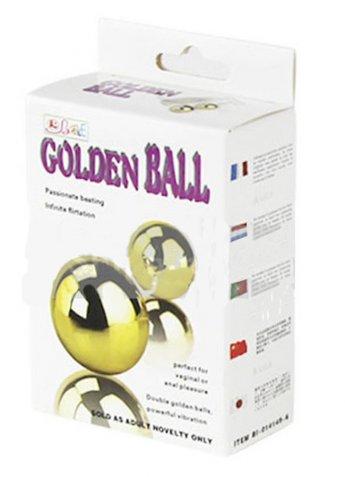 Golden Ball Titreşimli Zevk Topları