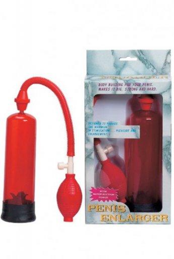 Penis Enlargement Penis Pompası Kırmızı
