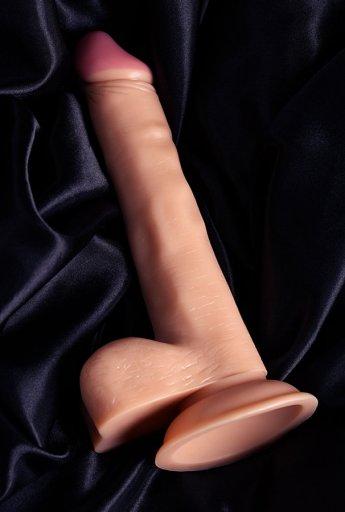 Nokta Shop 19 Cm Realistik Testisli Dildo Penis