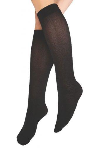 Teni Göstermeyen Mikro Dizaltı Çorap Siyah