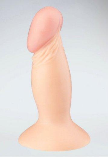 Girl Style Vantuzlu Ten Rengi Realistik Penis