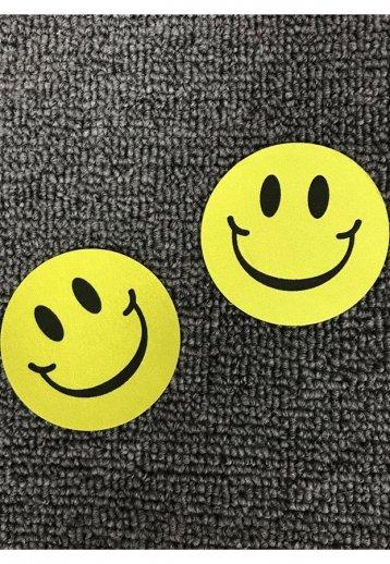 Gülücük Desenli Göğüs Ucu Kapatıcı