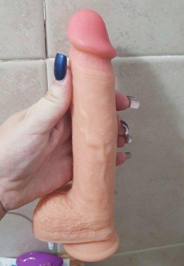 Kalın Penis Et Dokusu Süper Realistik 20.5 Cm