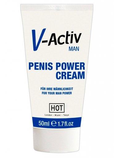 Hot V Aktiv Penis Bakım Kremi