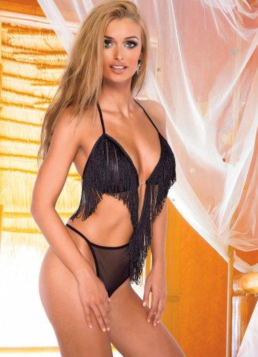 Sexy Püsküllü Body - 0545 356 96 07