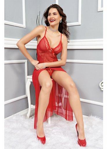 Sexy Transparan Gecelik Fantazi Giyim - 0545 356 96 07