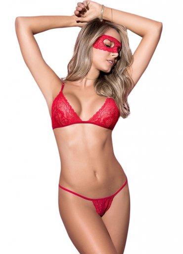 Maskeli Sexy Sütyen Takımı - 0545 356 96 07