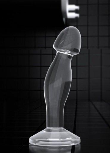 Anal Sex Butt Plug Şeffaf Jel Doku