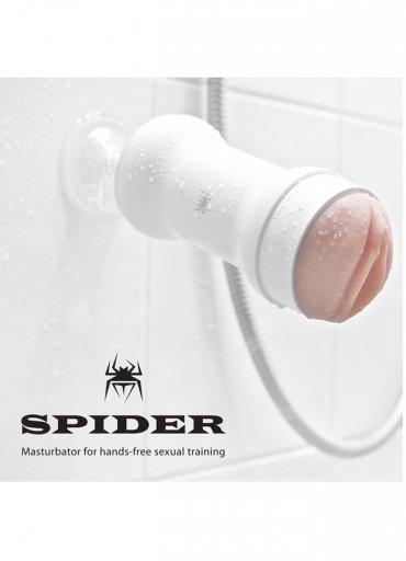 Spider Hands Free Realistic Male Mastürbatör Beyaz