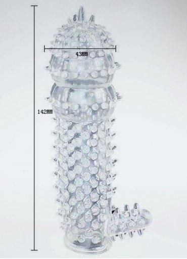 Penis Sleeve Tırtıklı Penis Kılıfı - 0545 356 96 07