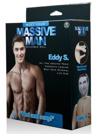 Massive Man Erkek Şişme Bebek Eddy S - 420 TL