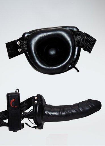 Siyahi Belden Bağlamalı İçi Boş Penis