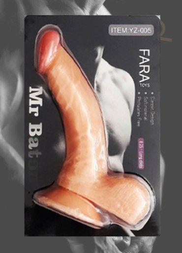 Sex Shop Gerçekçi Realistik Vantuzlu Dildo