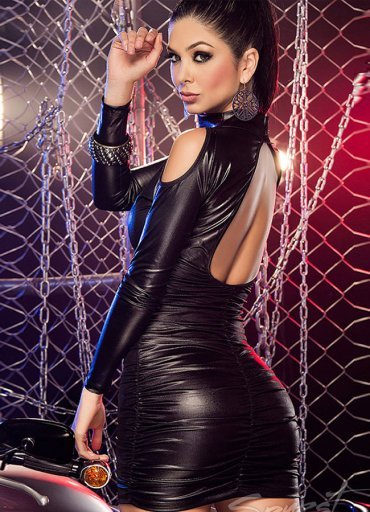 Lame Düz Mini Elbise - 0545 356 96 07