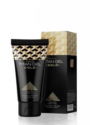 Erolife Titan Gel Gold Penis Bakım Kremi