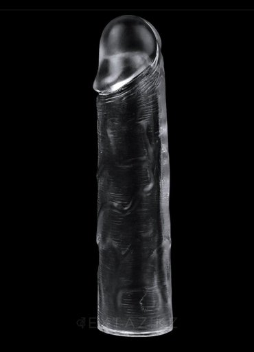 3 Lü Set Jel Doku Şeffaf Siyahi Penis Kılıfı