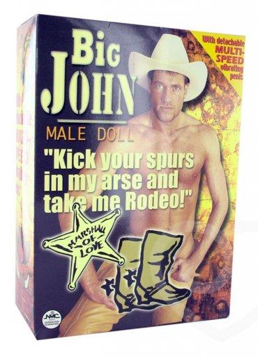 Big John Male Doll Şişme Erkek - 0545 356 96 07