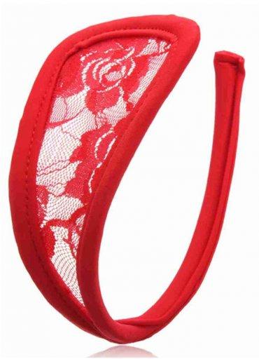 Kırmızı Sexy C-String
