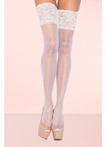 Geniş Dantelli Jartiyer Çorabı - 45 TL