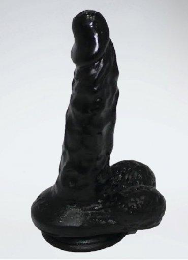 Zenci Damarlı Yumuşak Dokulu Realistik Penis