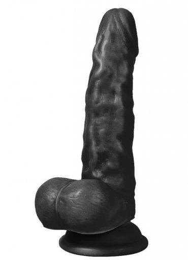 Zenci Penis Et Dokusu Süper Realistik 17 CM